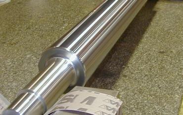 Fourniture complète TSM d'un rouleau de bassine, avec traitement nickel chrome, rectification et traitement hydrophile.JPG